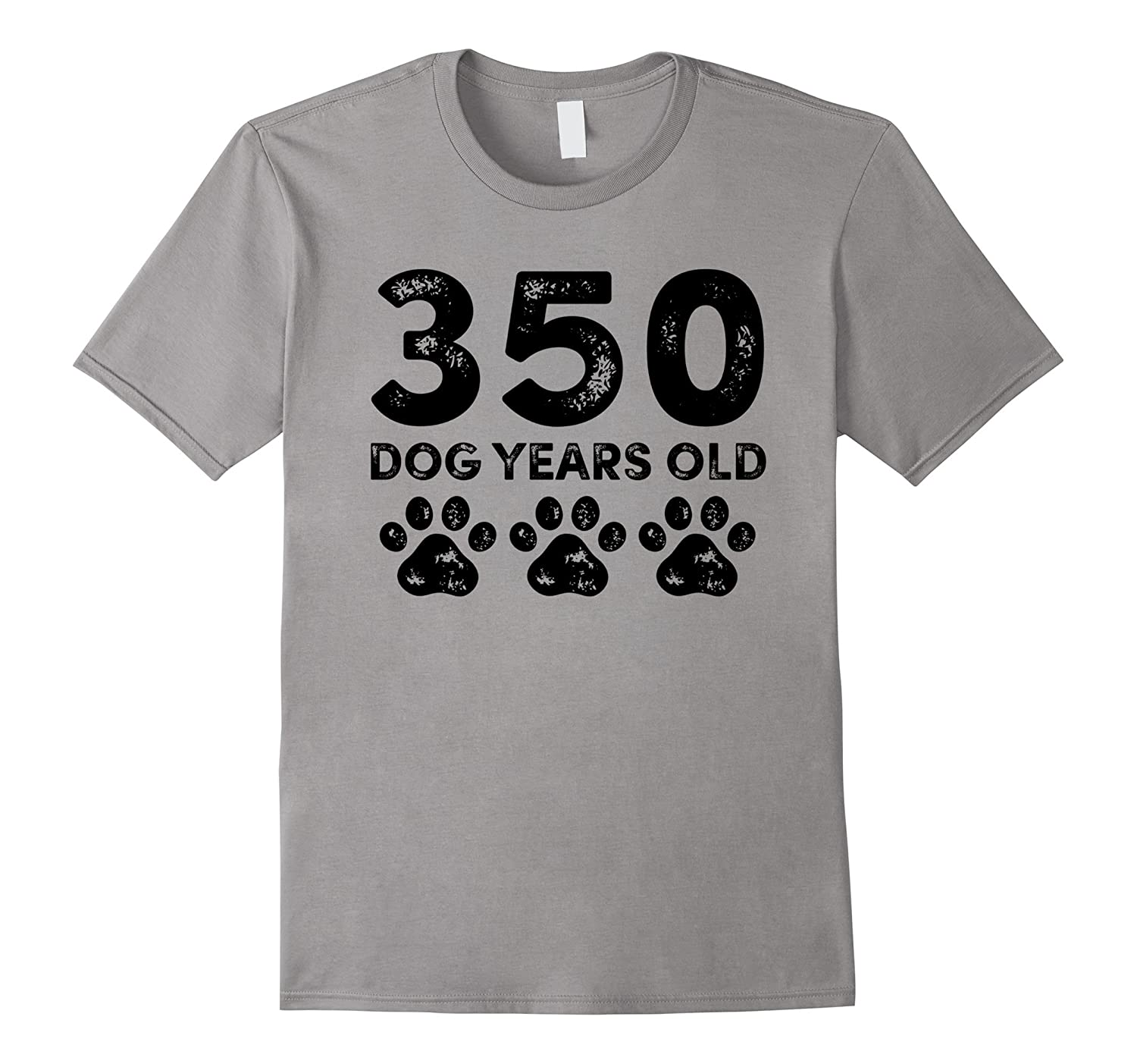 350 Dog Years Old - Funny 50th Birthday T-Shirt-TH