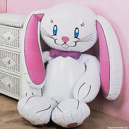 Amazon.com: Jumbo hinchable conejo: Toys & Games