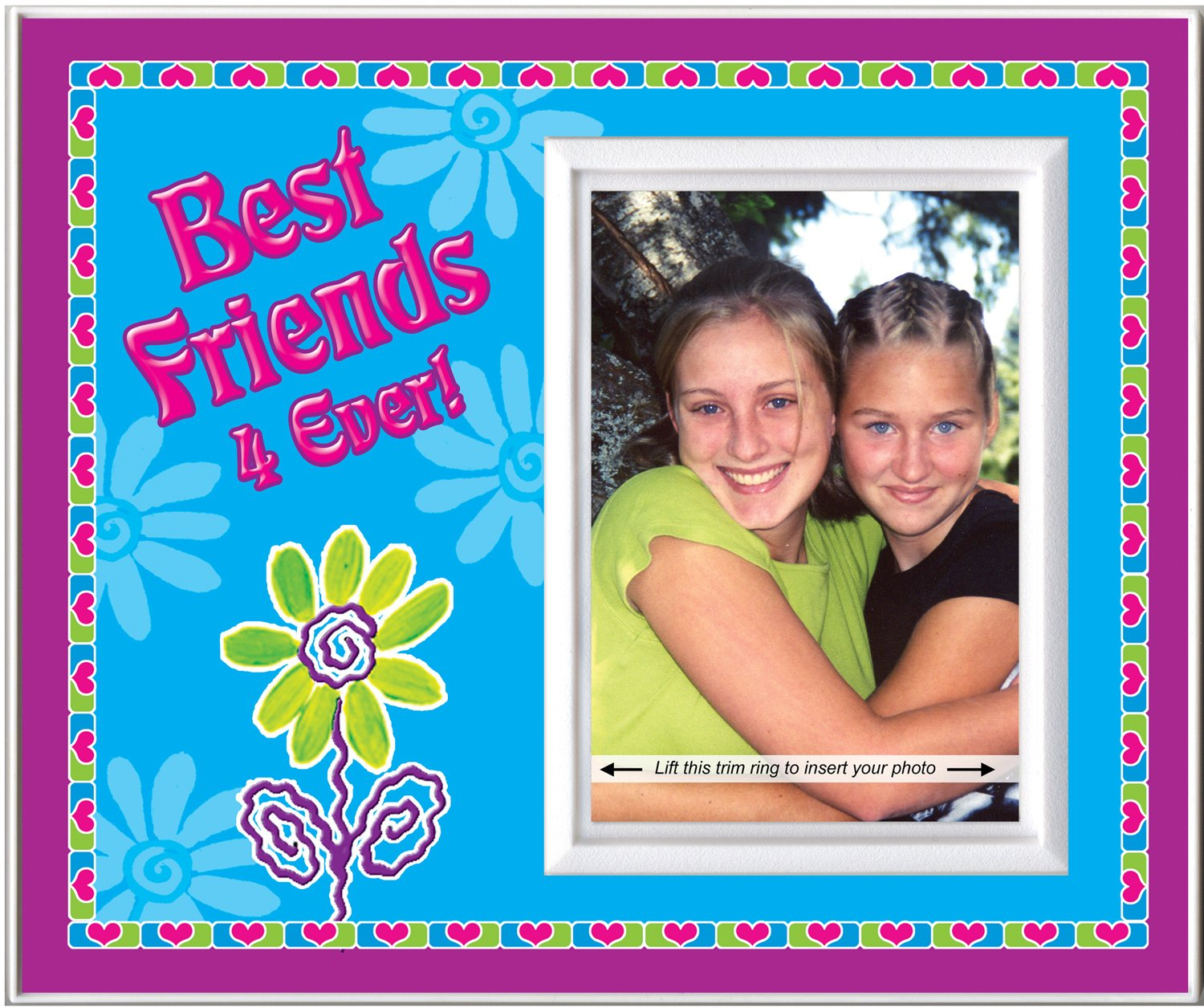 Amazon.com : Best Friends 4 Ever! - Picture Frame Gift : Childrens ...