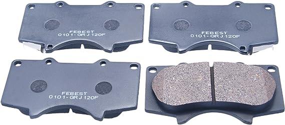 Fits TOYOTA FORTUNER GGN60 Brake Pads Disc Brake Front