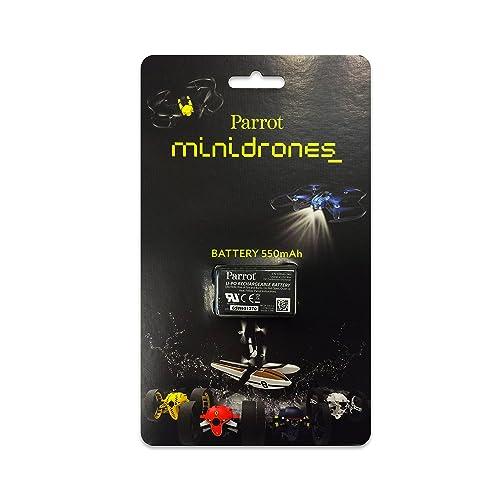 Parrot Evo Batterie LiPo pour Minidrones 550 mAh Noir