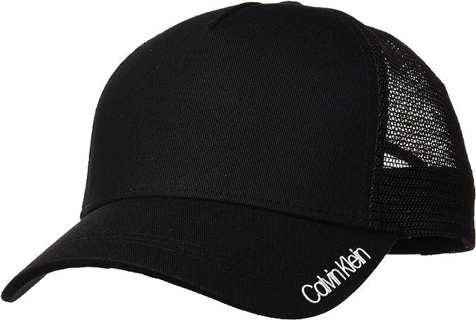Calvin Klein Gorra Trucker Item Negro: Amazon.es: Ropa y accesorios