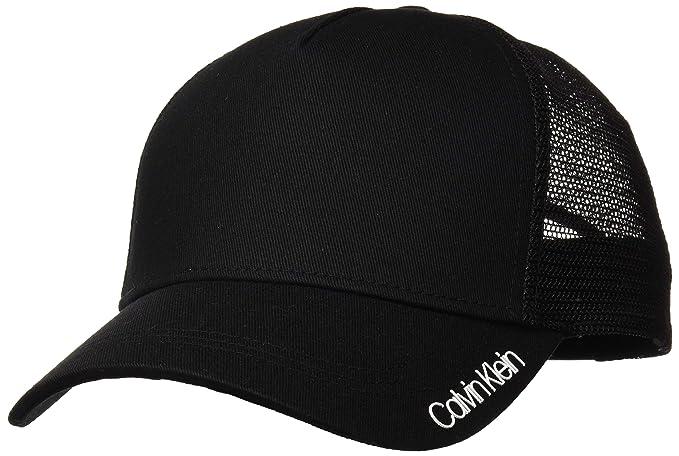 Calvin Klein Item Trucker, Gorra de béisbol para Hombre, Negro (Black 001)