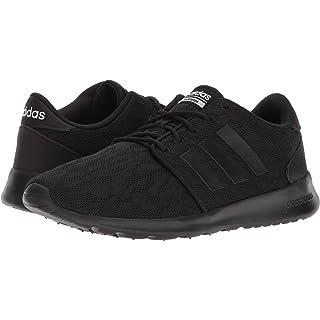 adidas Women's CF QT Racer W Sneaker, Core Black, Core Black,White, 6.5 M US