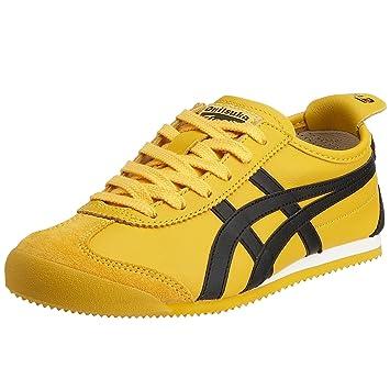 Onitsuka Tiger HL202 Mexico 66 Unisex Sneaker  Gelb (0490-yellow/Schwarz)