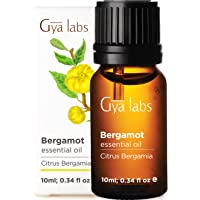 Gya Labs Bergamot Essential Oil - Mood Lifter for Sore Free Body and Fuller Hair 10ml - 100 Pure Natural Therapeutic…