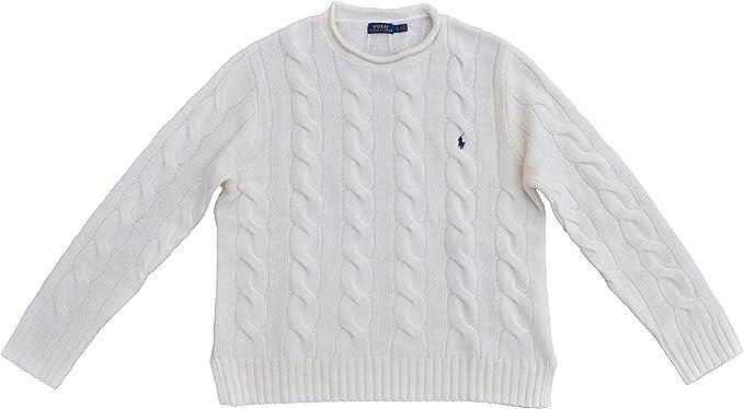 Ralph Lauren - Jersey de lana para mujer, diseño trenzado, color ...