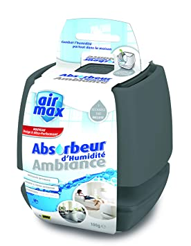 UHU 48160 500 g Air Max Ambiance Absorbeur d'humidité, Gris