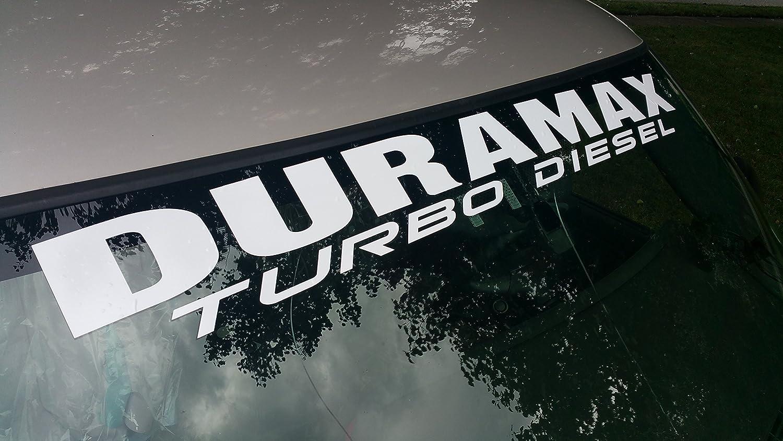 Amazon.com: Duramax Windshield Decal Turbo Diesel Banner Sticker 4.5