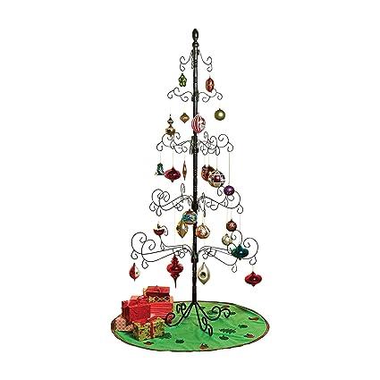 Amazoncom Kalalou Wrought Iron Christmas Ornament Display Tree
