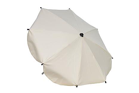 Universal sombrilla paraguas para carrito con vetas brazo beige beige