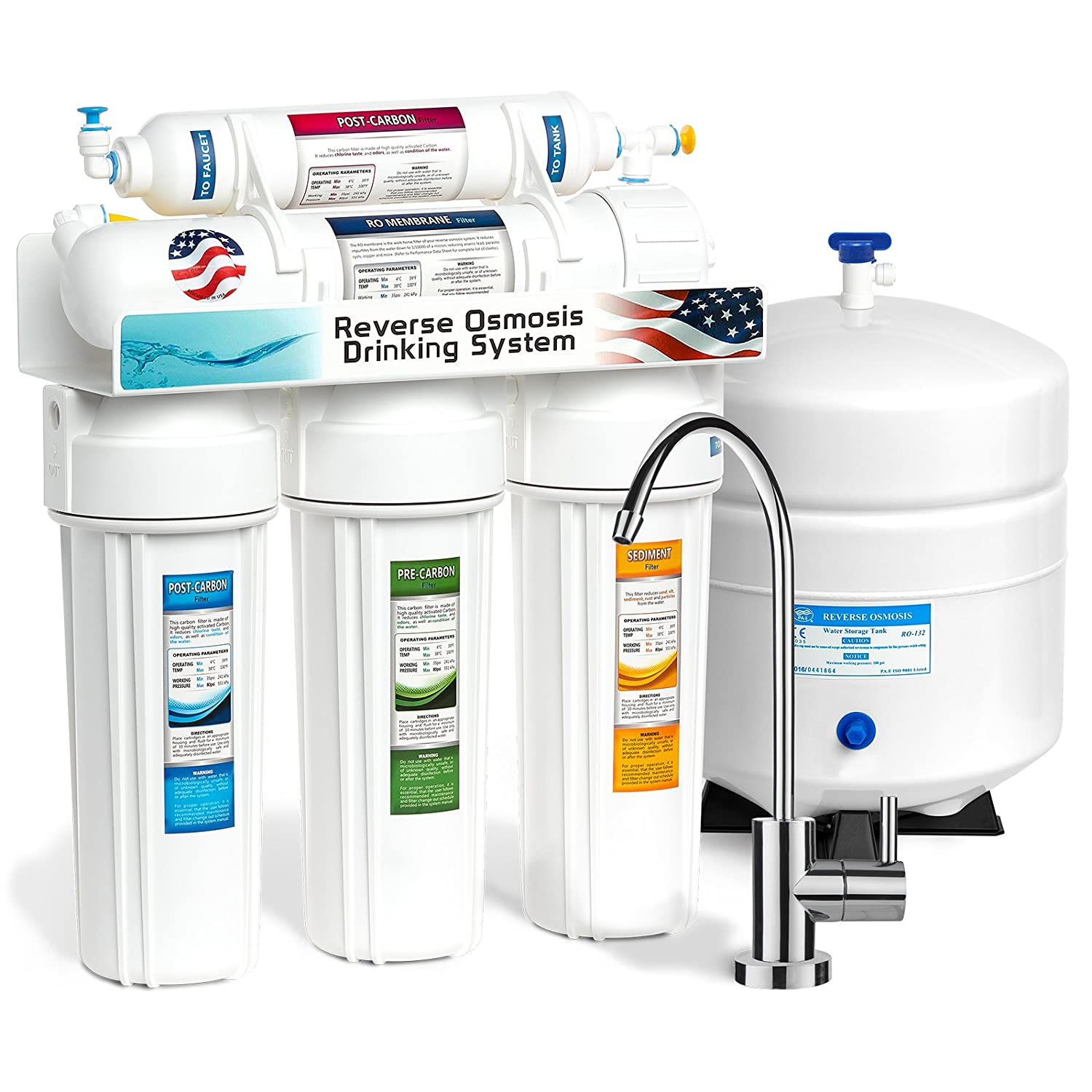Where To Get Reverse Osmosis Water Express Water 5 Stage Home Drinking Reverse Osmosis Water