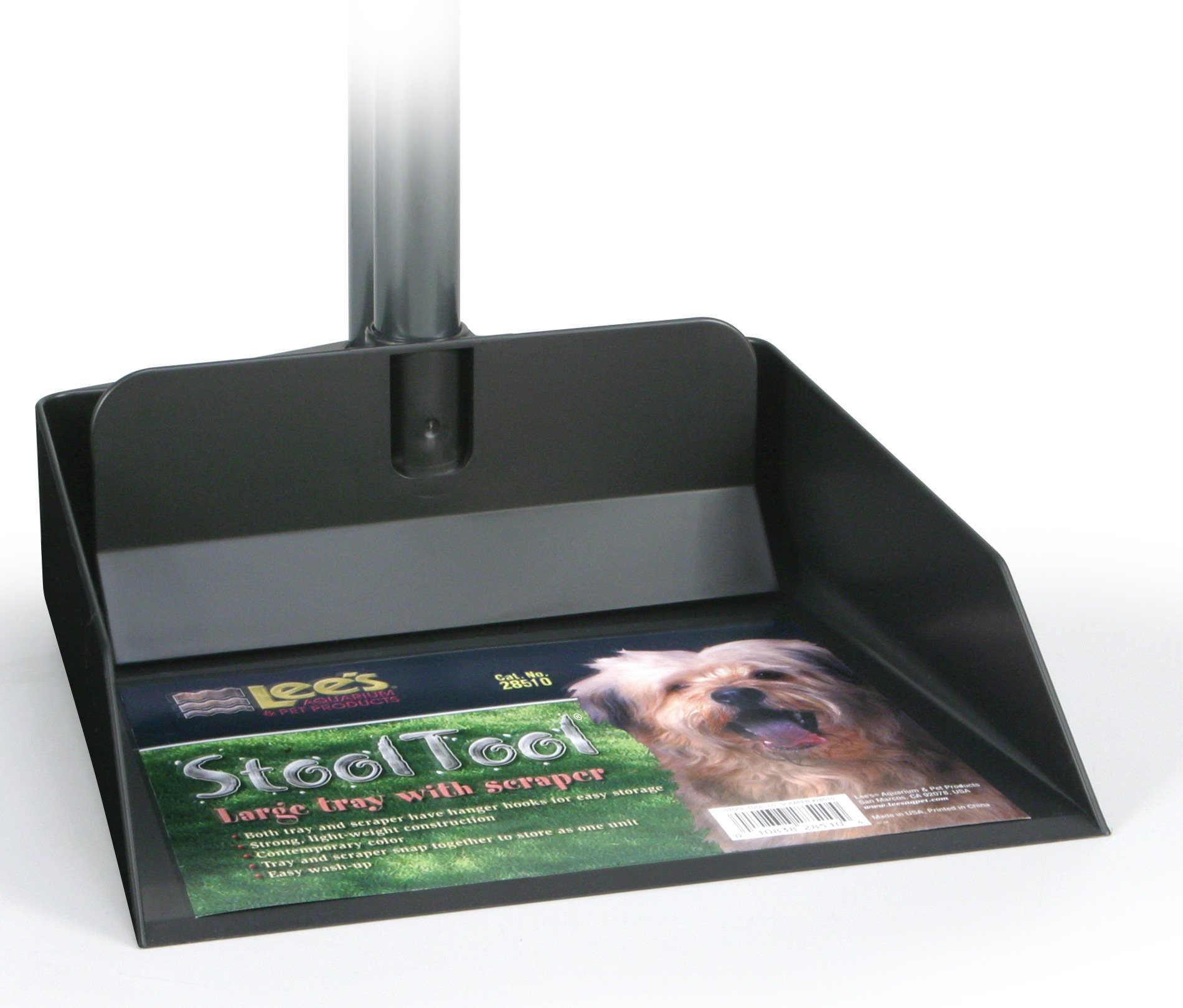 Lee's Stool Tool Clean up System, Large Tray W/Scraper by Lee's