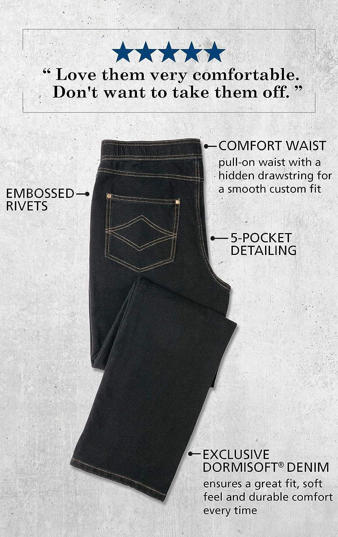 7e89da57 PajamaJeans Men's Straight Leg Knit Denim Jeans at Amazon Men's Clothing  store: