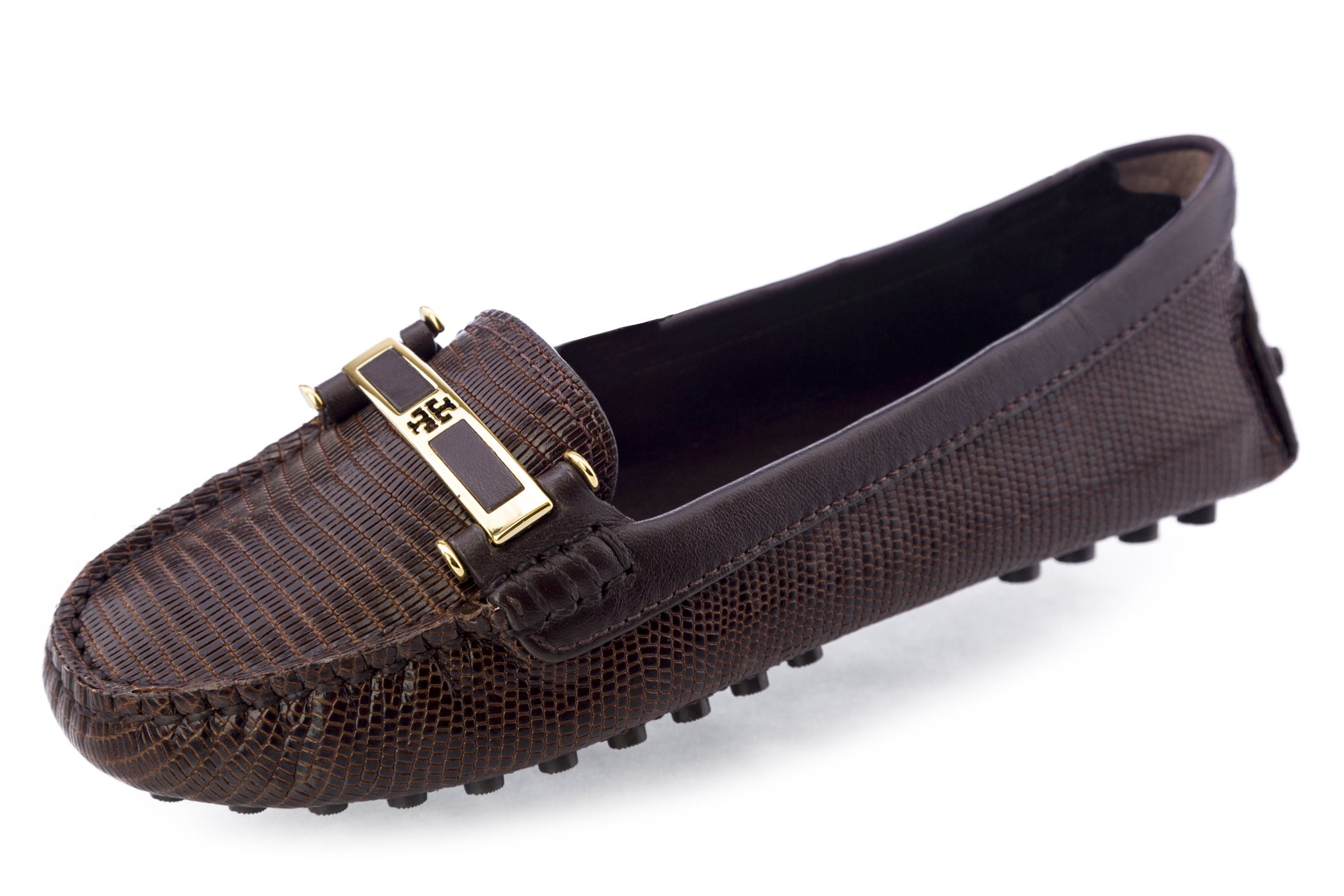 Tory Burch Caralyn Driving Shoes 7 Coco