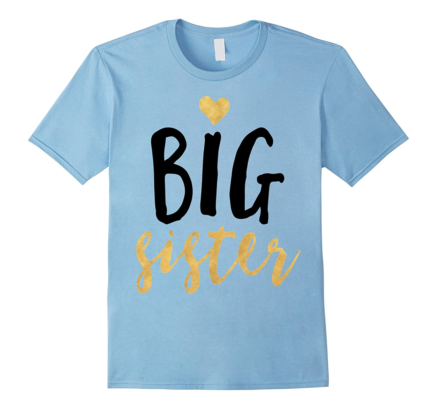 Big heart sister T-shirt little boy girl hoodie brother gift-TH