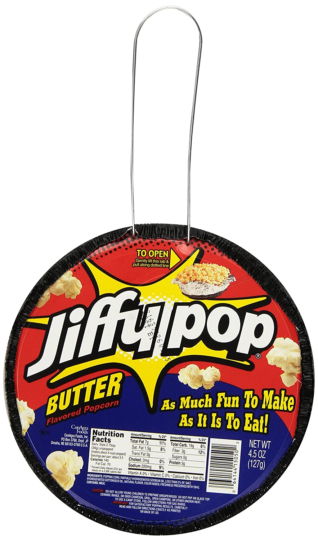 Jiffy Pop Butter Popcorn, 4.5 Ounce -- 12 per case.