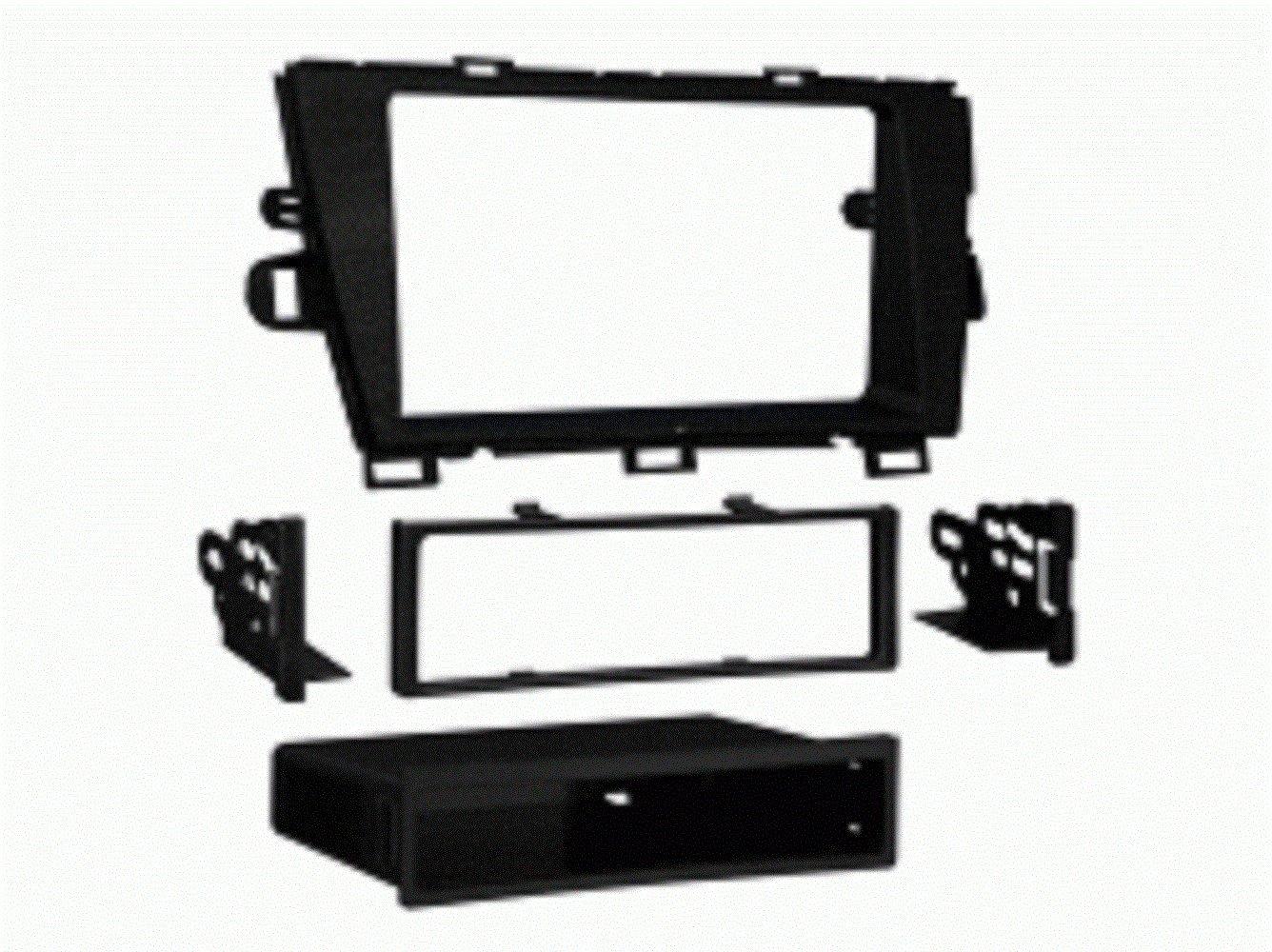 Metra 99-8226B Dash Kit for Toyota Prius 2010 Single DIN (Black)