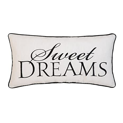 Amazon.com: C&F Home Sweet Dreams - Cojín bordado (4.7 x 9.4 ...