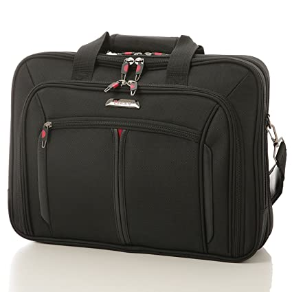 b71400bb625b7 Aerolite Laptop Executive Business Cabin Luggage Flight Shoulder Messenger  Bag Briefcase