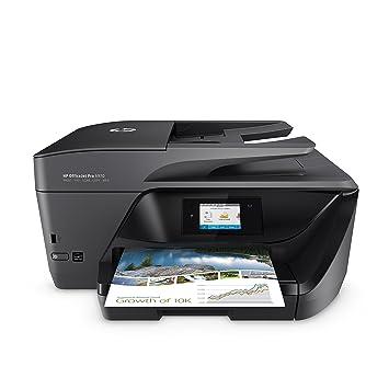 HP OfficeJet Pro 6970 Multifunktionsdrucker (Instant Ink, Drucker, Scanner, Kopierer, Fax, WLAN, LAN, Apple Airprint, mit 3 P