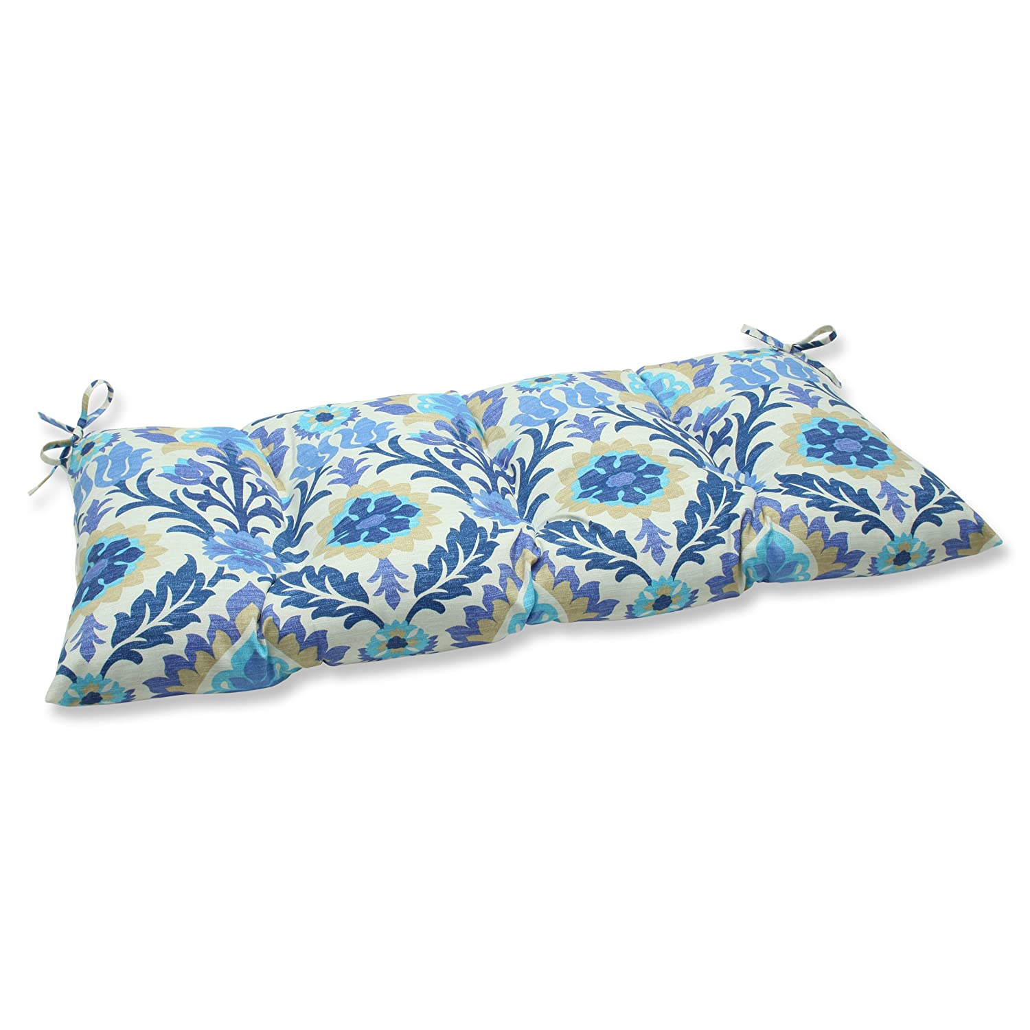 Pillow Perfect Indoor Outdoor Santa Maria Azure Swing Bench Cushion