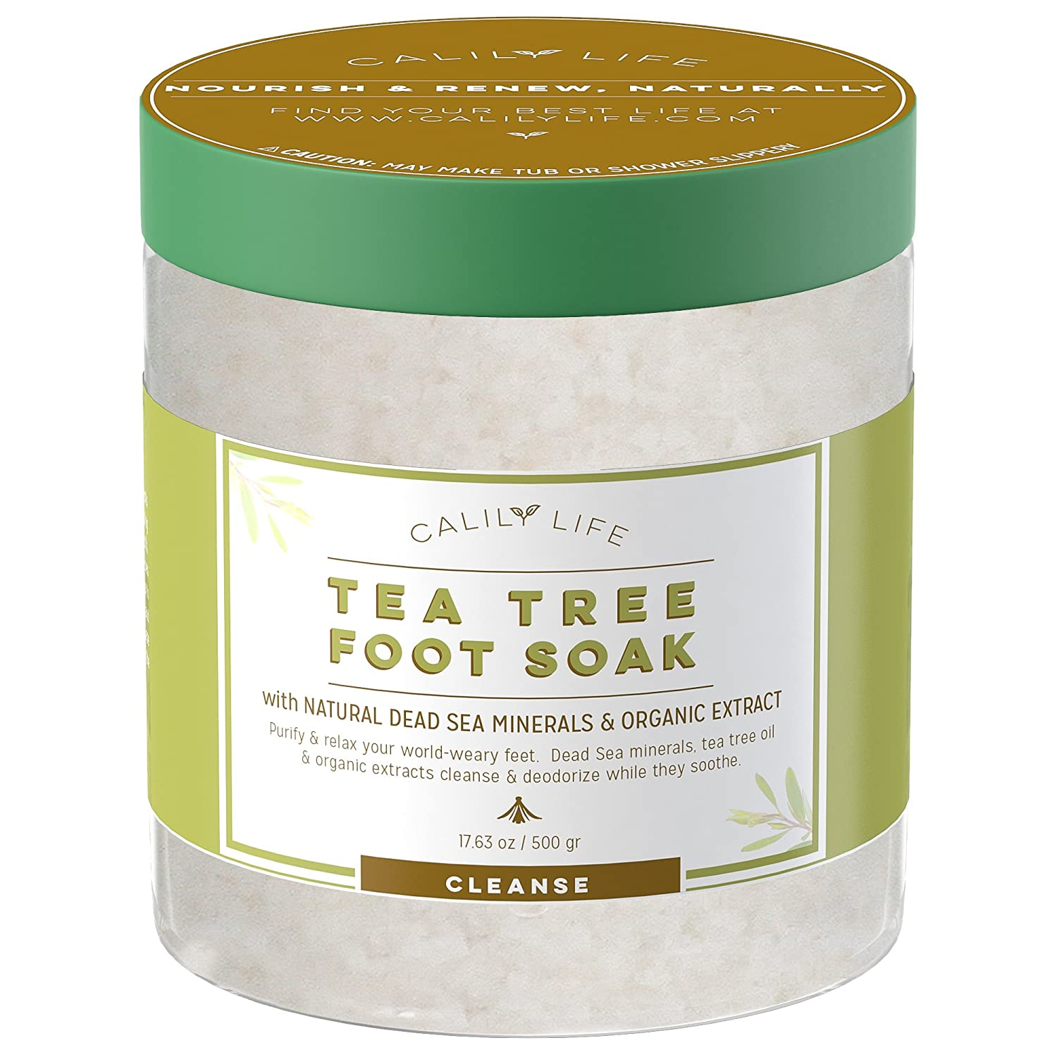 Calily Life Organic Tea Tree Oil Foot Soak