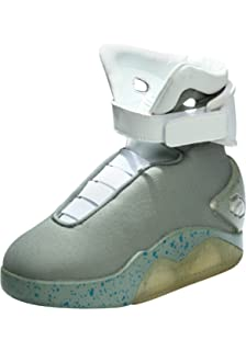 newest 91276 5707c Back to the Future Childrens Light Up LED Shoes