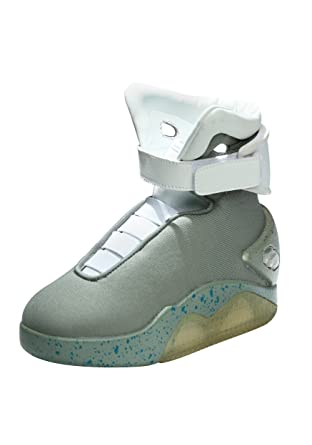 fc90cc70913a77 Amazon.com  Back to the Future Childrens Light Up LED Shoes  Clothing