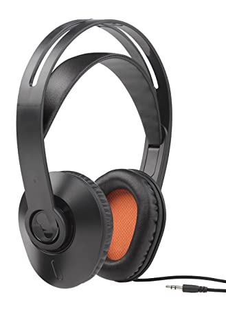 79e9a6c20b5 One For All HP1010 Corded TV Headphones with self-adjusting headband (Over- Ear