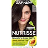 Garnier Nutrisse Haircolor, Black Tea Soft Black 20