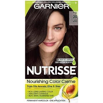 amazon com garnier nutrisse nourishing hair color creme 20 soft