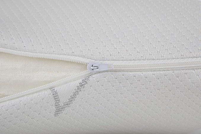 Todocama Lot de 2 oreillers 100/% visco/élastique Blanc 70 x 70 cm