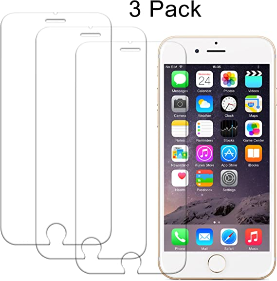 """2 PACKS Apple 4.7/"""" iPhone 6 /& 6s /&7 NewTempered Glass Film Screen Protector"""