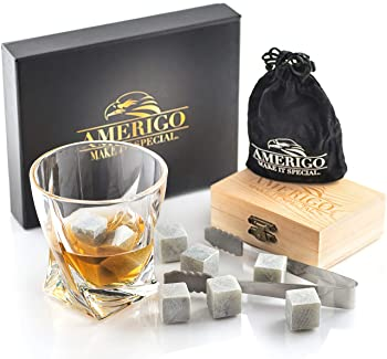 Amerigo Luxury Accessories Whiskey Stones