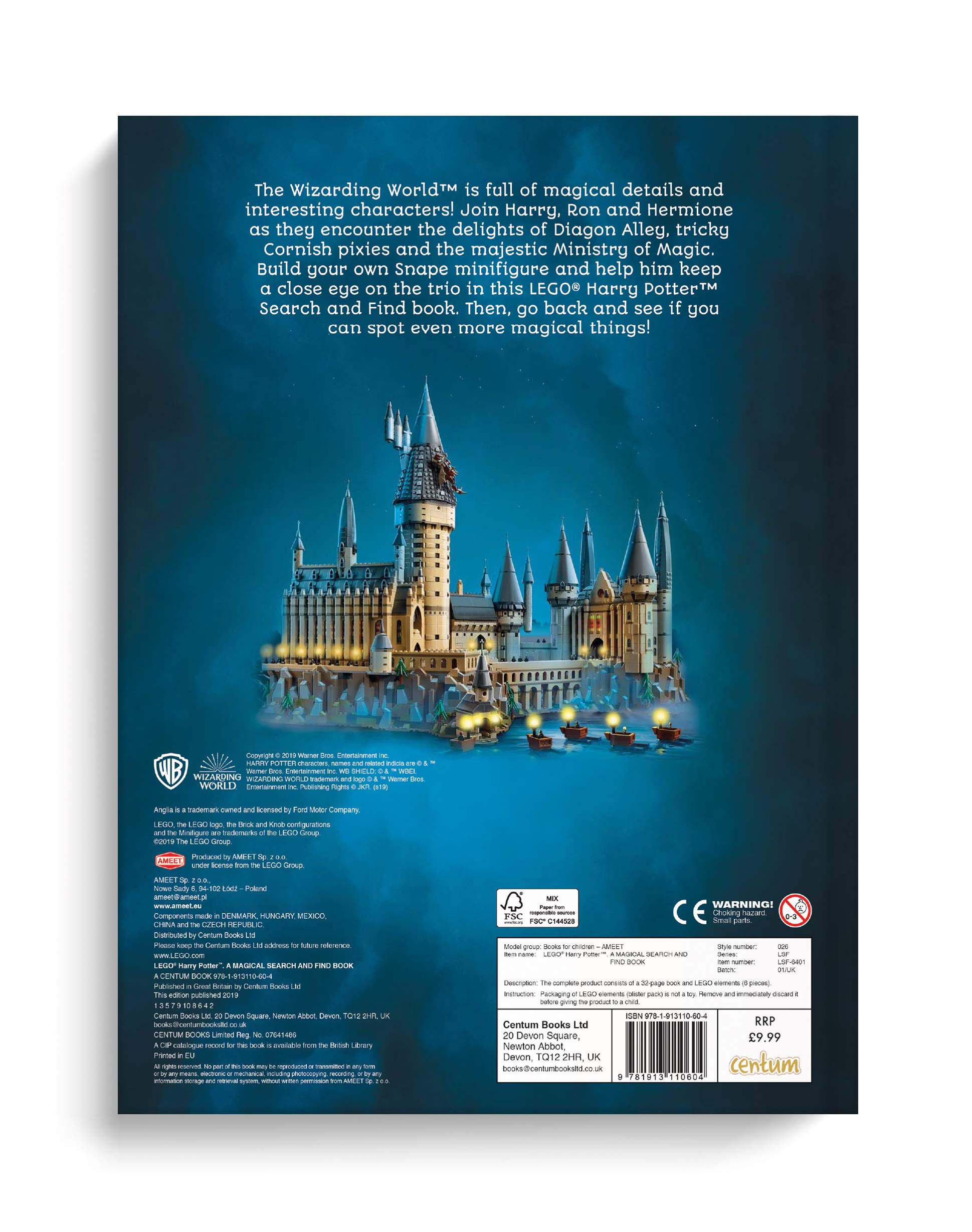 Lego - Harry Potter - Search & Find: Amazon.es: Centum Books Ltd: Libros en idiomas extranjeros