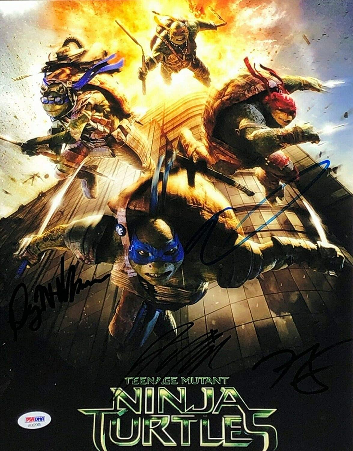 Noel Fisher Jeremy Howard Alan Ritchson 1 Autographed Signed ...