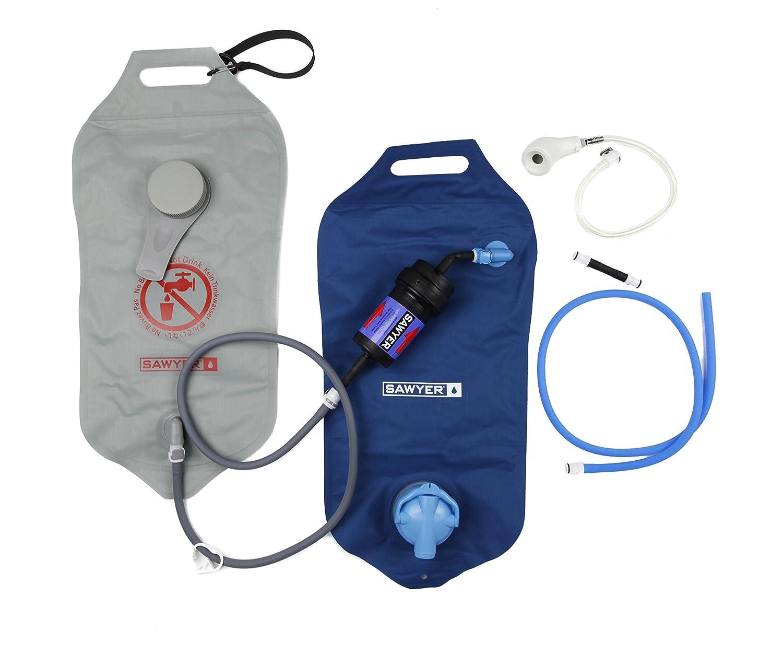 SAWYER Wasserreinigungssystem Komplette Point Zero Two 2 Tasche Wasserfilter, 24.8 x 8.9 x 36.8 cm, 4 Liter, SP194