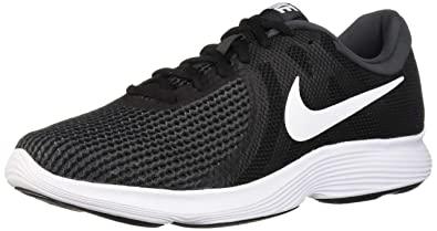 e37ddc79bb92d Nike Men's Revolution 4 Running Shoe, Black/White-Anthracite, 6.5 Regular US