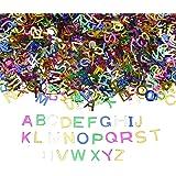 Willingood ABC Buchstaben Konfetti [7000pc] Schuleinführung Zuckertüte Einschulung Schulanfang, Streudeko Hochzeit Tischdeko