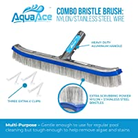 AquaAce Premium Pool Brush