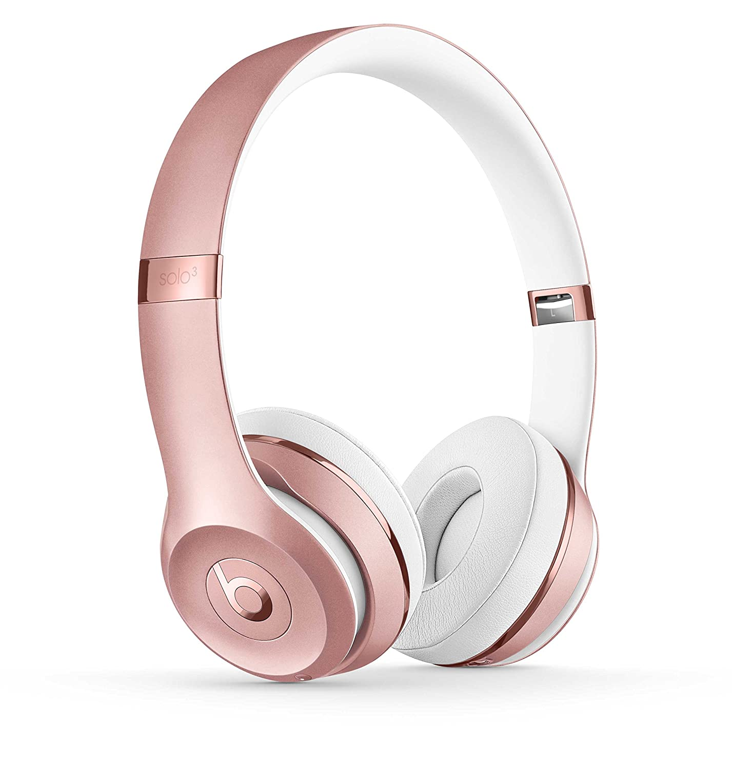 Beats Solo3 Wireless On-Ear Headphones - Rose Gold.best wireless headphones 2019