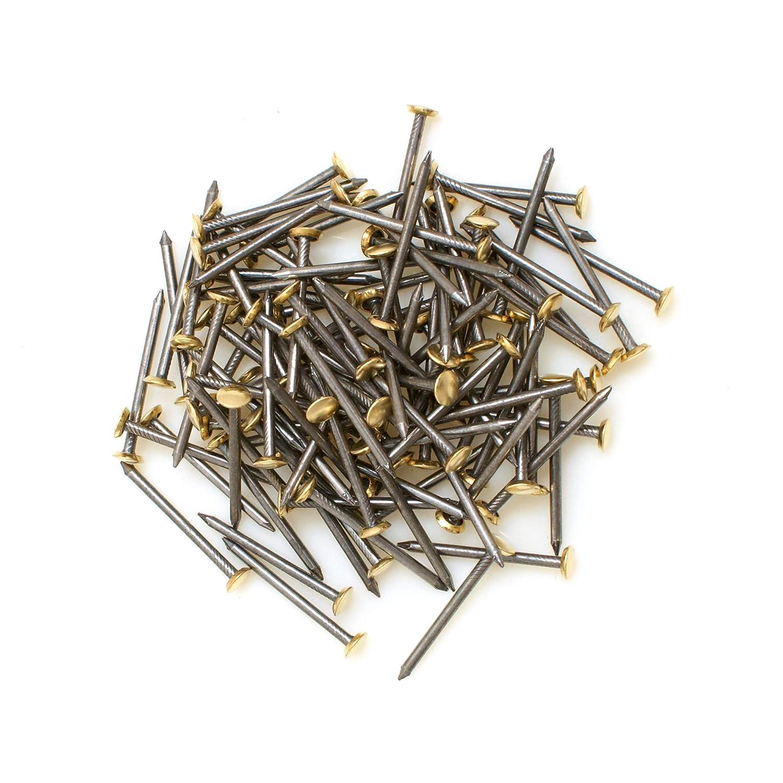 Design61 Lot de 100 clous pour tableau en acier 2 x 30 mm