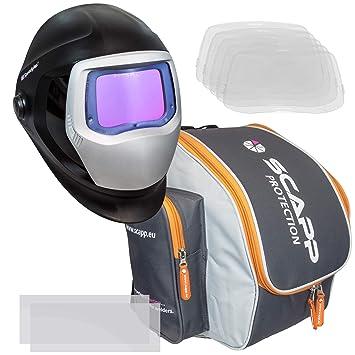 Speedglas 9100 XXI en kit, avec scapp Protection Sac à Dos, 5 extérieur et 7c42bd9dfae4