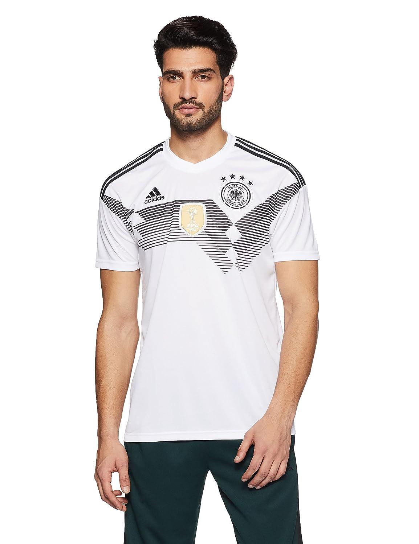 (アディダス) adidas サッカー ドイツ代表 ホームレプリカユニフォーム半袖 DTV68 [メンズ] B076V5T75Pホワイト/ブラック 日本 XO-(日本サイズ3L相当)