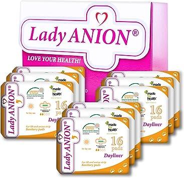 Lady Anion Salvaslips con alas, Algodón organico certificado ...