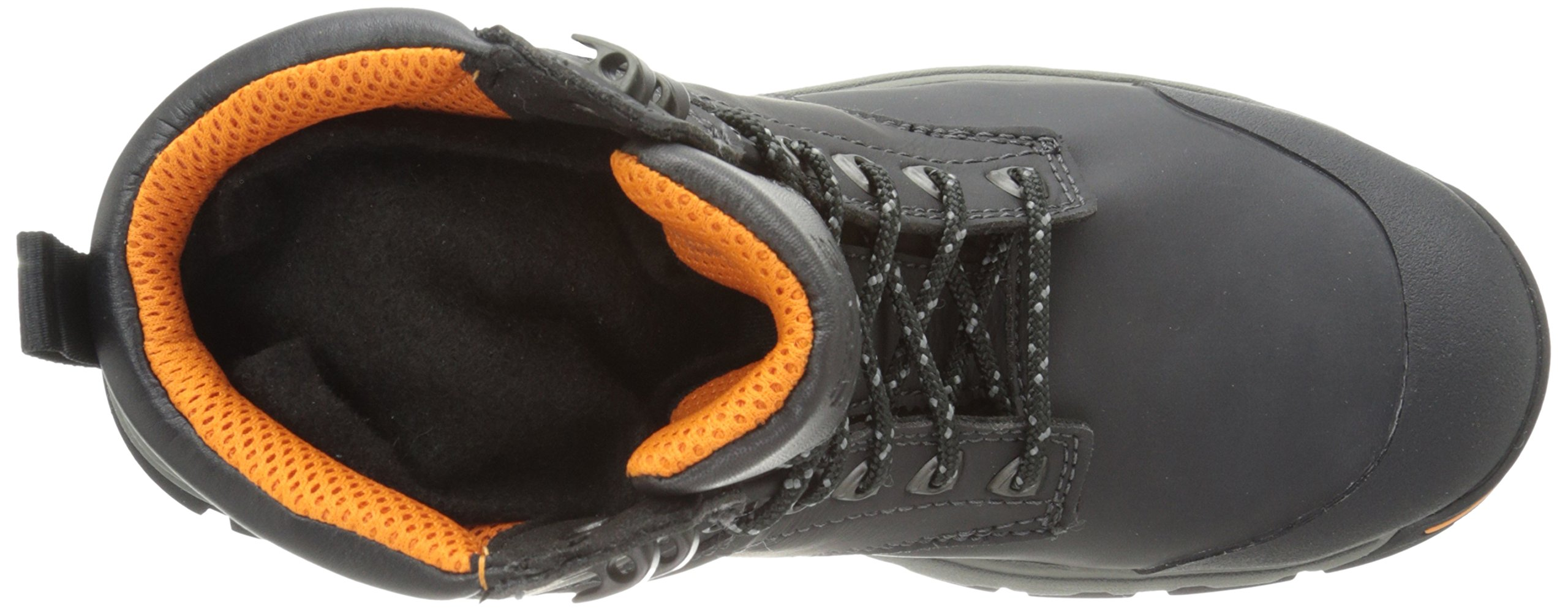 Timberland PRO Men's 6 Inch Stockdale Grip Max Alloy Toe Work and Hunt Boot, Black Microfiber, 5.5 M US by Timberland PRO (Image #8)