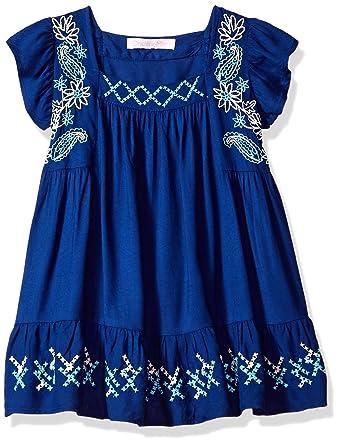 feafe194ef Amazon.com: OndadeMar Girls Lotto Short Dress Cover-up: Clothing