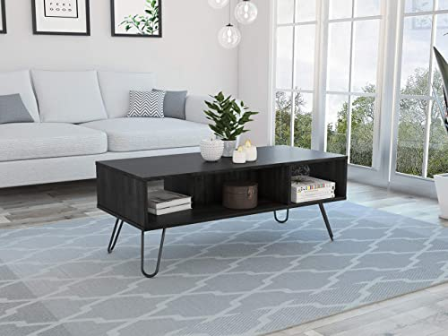 Tuhome Furniture Vassel Rectangular Coffee Table