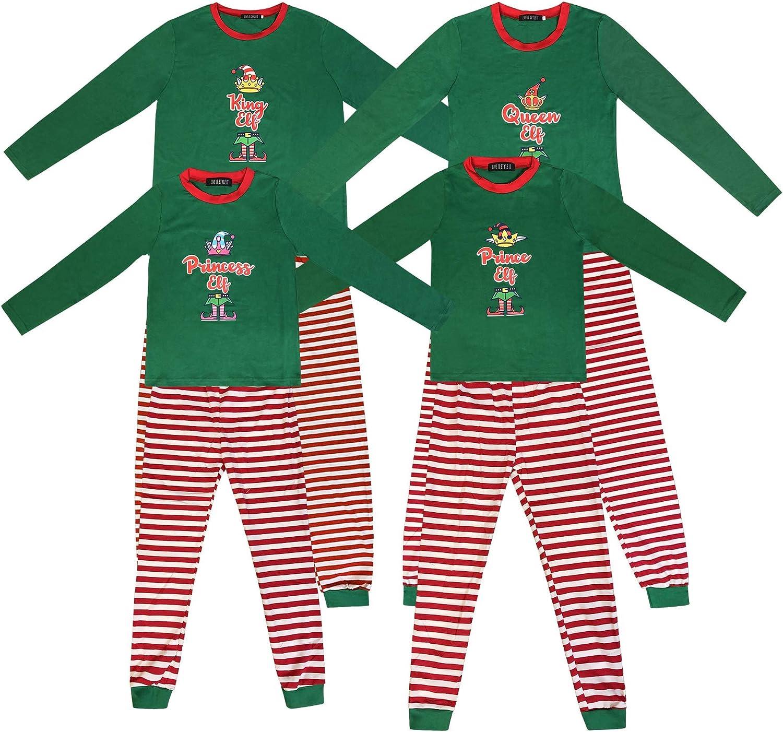 Details about  /Kids Girls Boys Elf Christmas Pyjamas Xmas Festive Costume Top Bottom Pjs 2-13Yr
